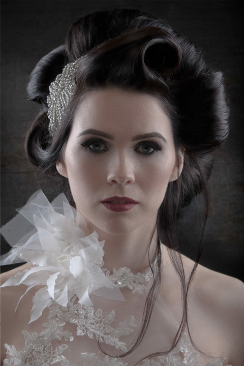 Bridal Hair Inspiration by YGH - You're Gorgeous Hair Salon