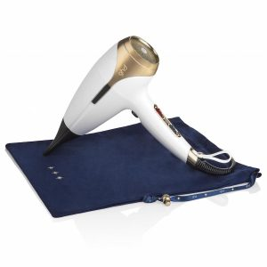ghd helios hair dryer in stylish white